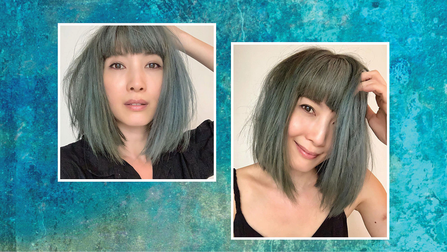 Jeanette Aw hair colour
