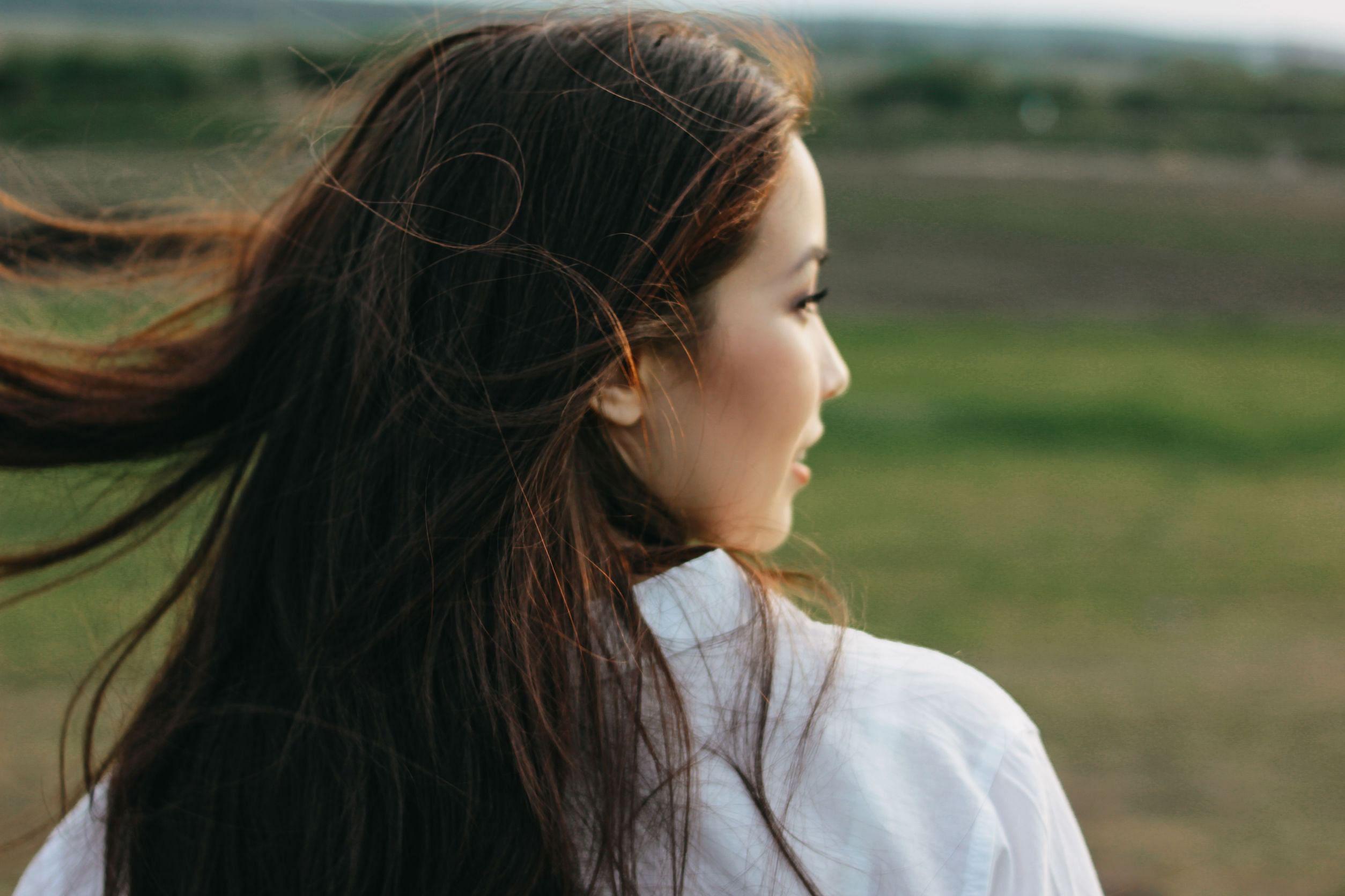 Shampoo for healthy asian hair