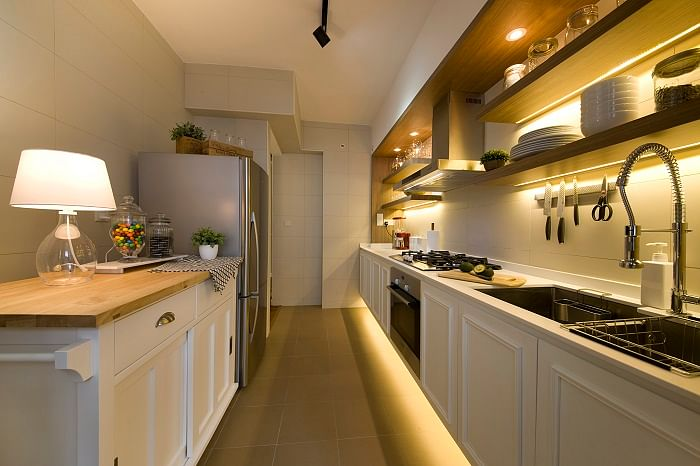Functional Ideas For Tiny Hdb Kitchens