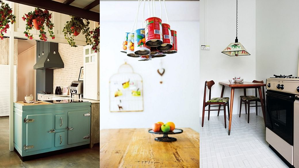 10 Vintage-Style Dining Areas And Kitchens In Singapore Homes