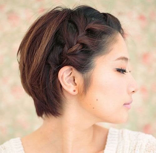 20 Easy Updos To Style Your Short Hair The Singapore Women S Weekly