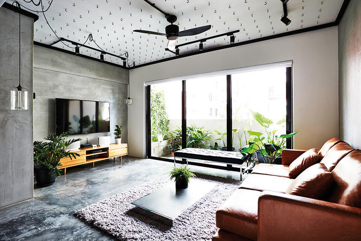 Industrial Style Hdb Homes In Singapore That Look Warm And Inviting The Singapore Women S Weekly
