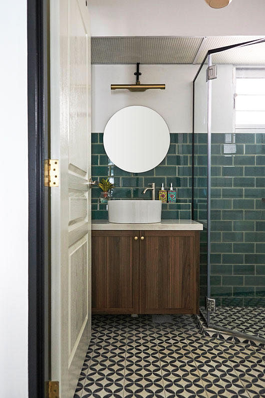 9 Stylish Ensuite Bathrooms That Optimise Personal Space The Singapore Women S Weekly