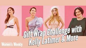 Christmas Gift Wrap Challenge With Kelly Latimer And More