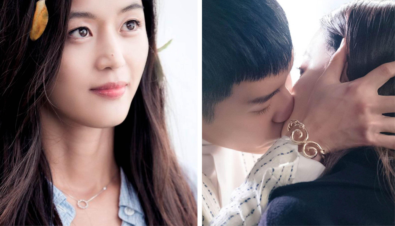 J.ESTINA Descendants of the Sun K-drama Kang Mo-yeon Jewelry Style Hélio Earring