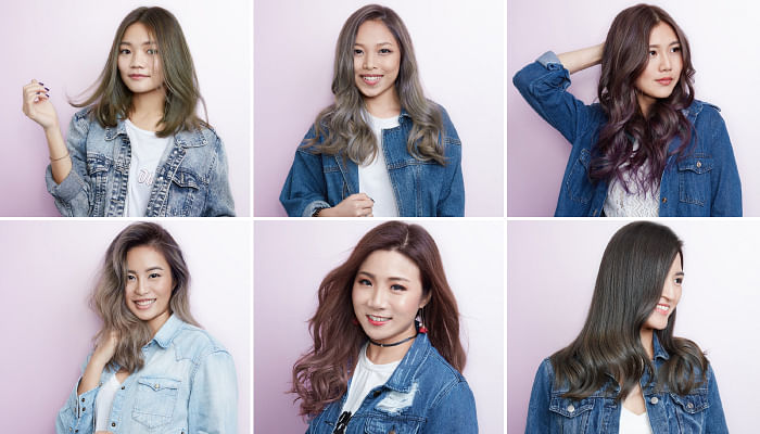 These Are The 6 Hottest Hair Colours Trending Right Now But Should You Try Them The Singapore Women S Weekly