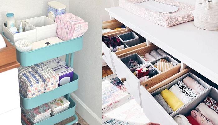14 Genius Baby Room Organising Hacks Busy Mums Swear By - The Singapore Women