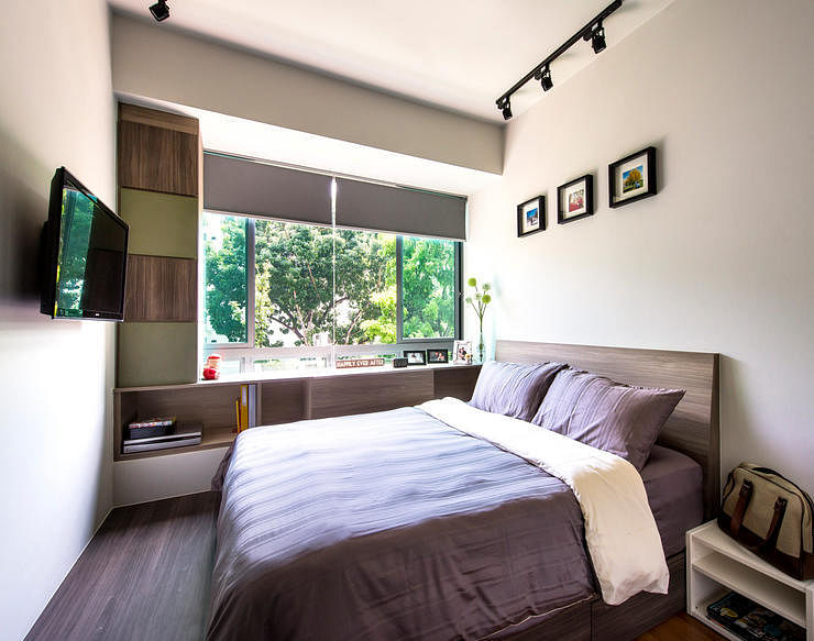 11 Clever Ways To Maximise Space In A Small Bedroom As Seen In Actual Singapore Homes The Singapore Women S Weekly