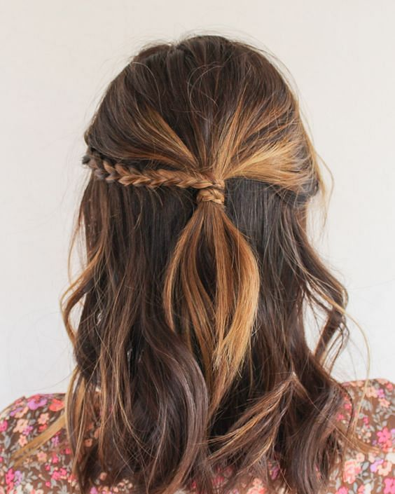 Fabulous 30 Easy Half Up Hairstyles Thatll Only Take Minutes To Achieve Natural Hairstyles Runnerswayorg