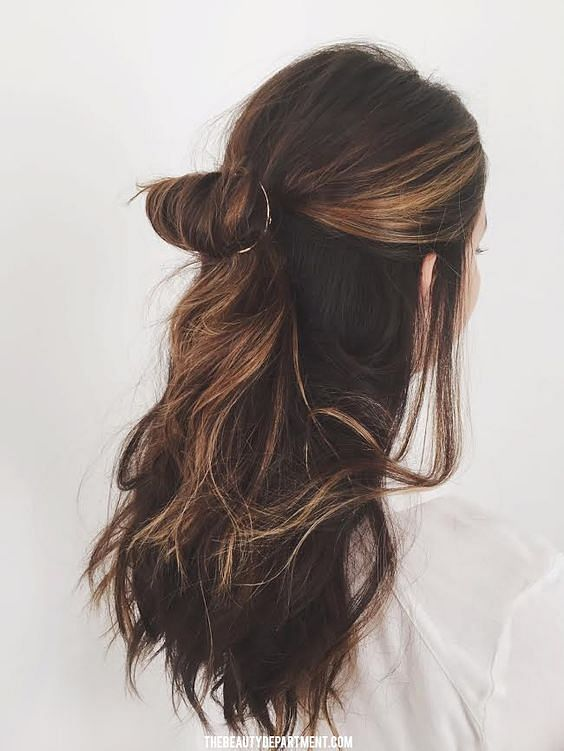 30 Easy Half Up Hairstyles That Ll Only Take Minutes To Achieve The Singapore Women S Weekly