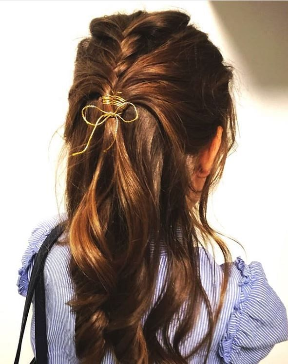 Hairstyles For Girls Easy Down 62