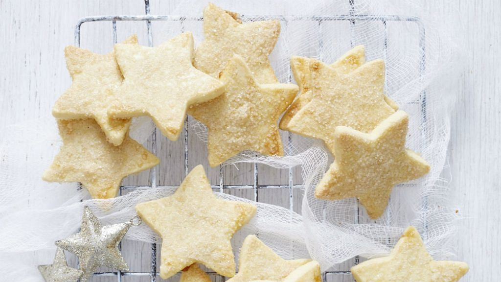 Cook Half Freeze Half Shortbread Stars