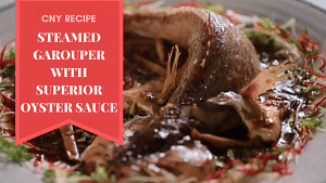 Steamed Garouper With Superior Oyster Sauce