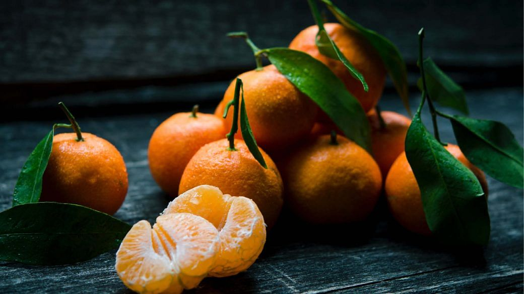 lucky CNY foods - mandarin oranges