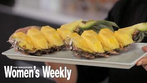 Easy Entertaining: A Clever Way To Serve Pineapple