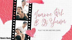 Joanne Peh & Qi Yuwu Play The Mr And Mrs Game