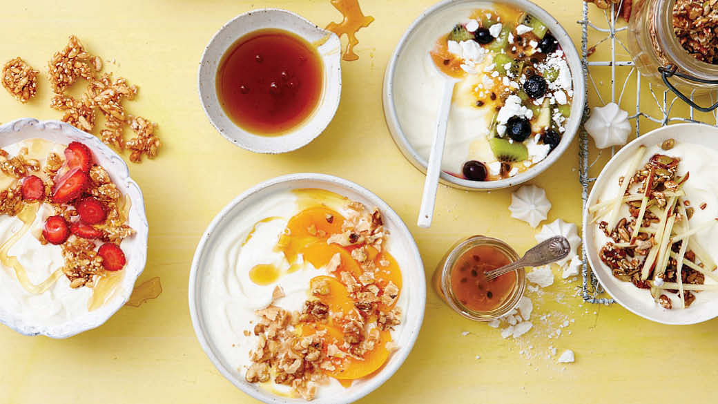 yoghurt topping recipes