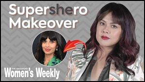 We Transformed Our Editor Candy Into Jameela Jamil | SuperShero Makeov...