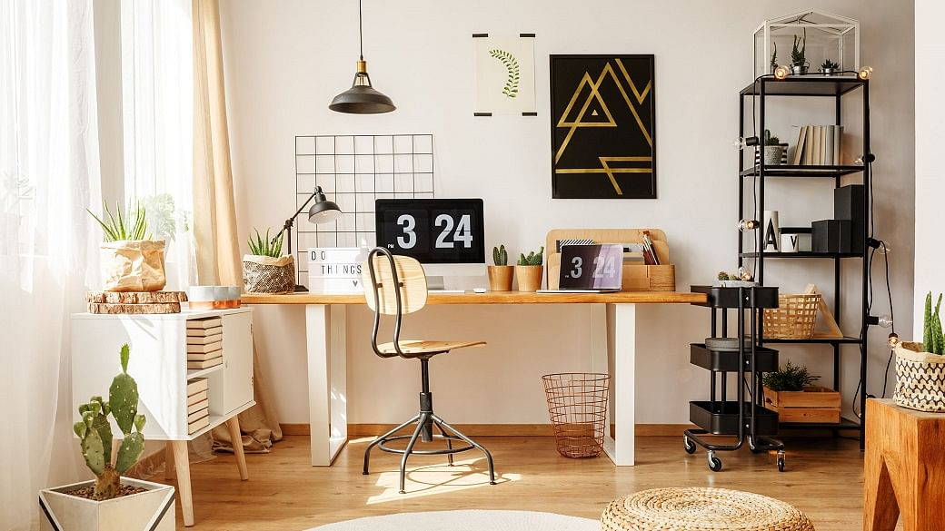 10 Smart Ways To Organise Your Home Office And Boost Productivity