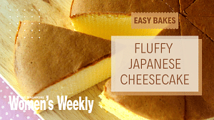 How To Make Fluffy Japanese Cheesecake