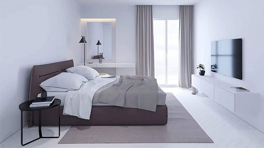 How To Get The Minimalist, All-White Apartment Of Your Dreams_Featured