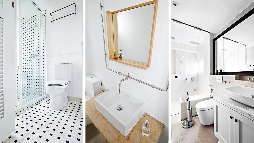 10 Beautiful All-White Bathroom Ideas For Small Homes ...