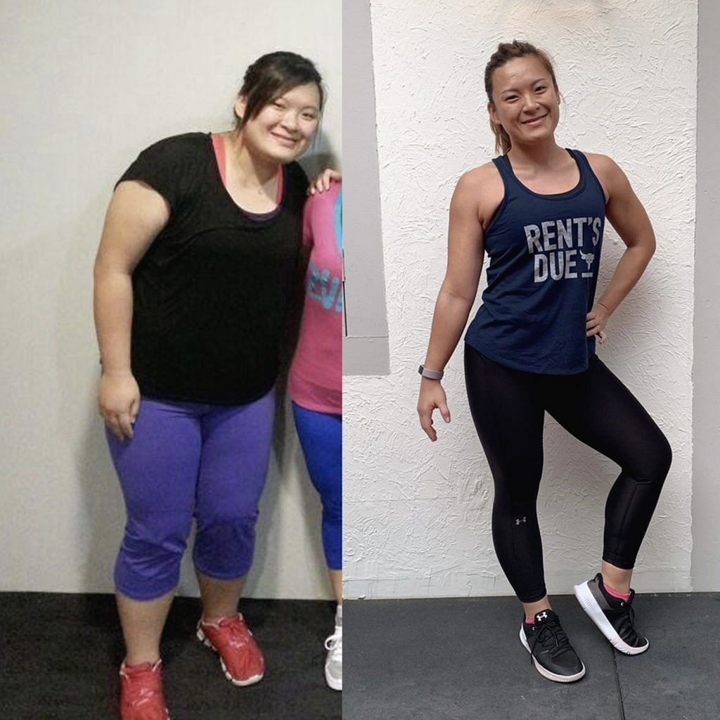 Celine Leow weight loss before and after
