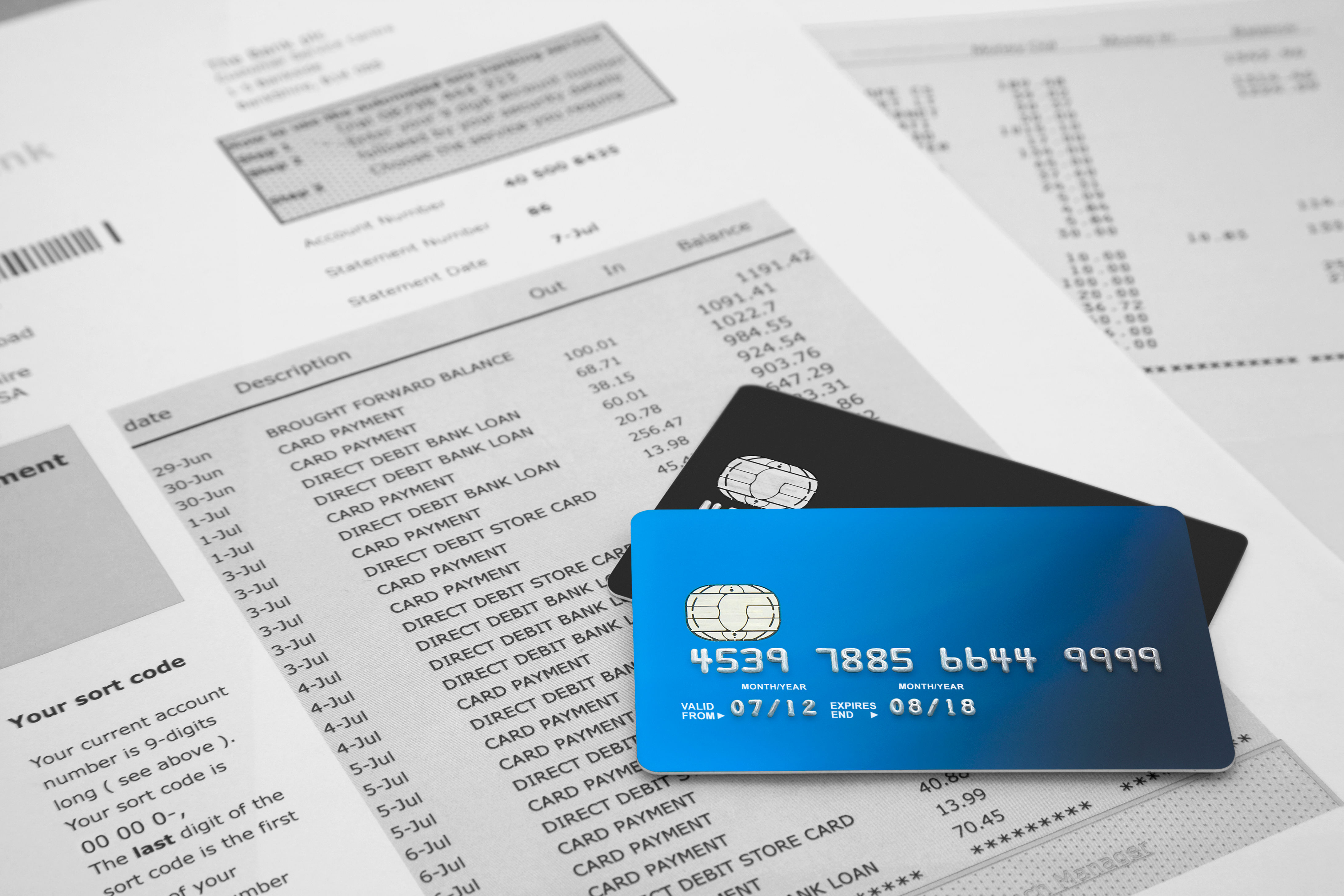 How to read credit card statements