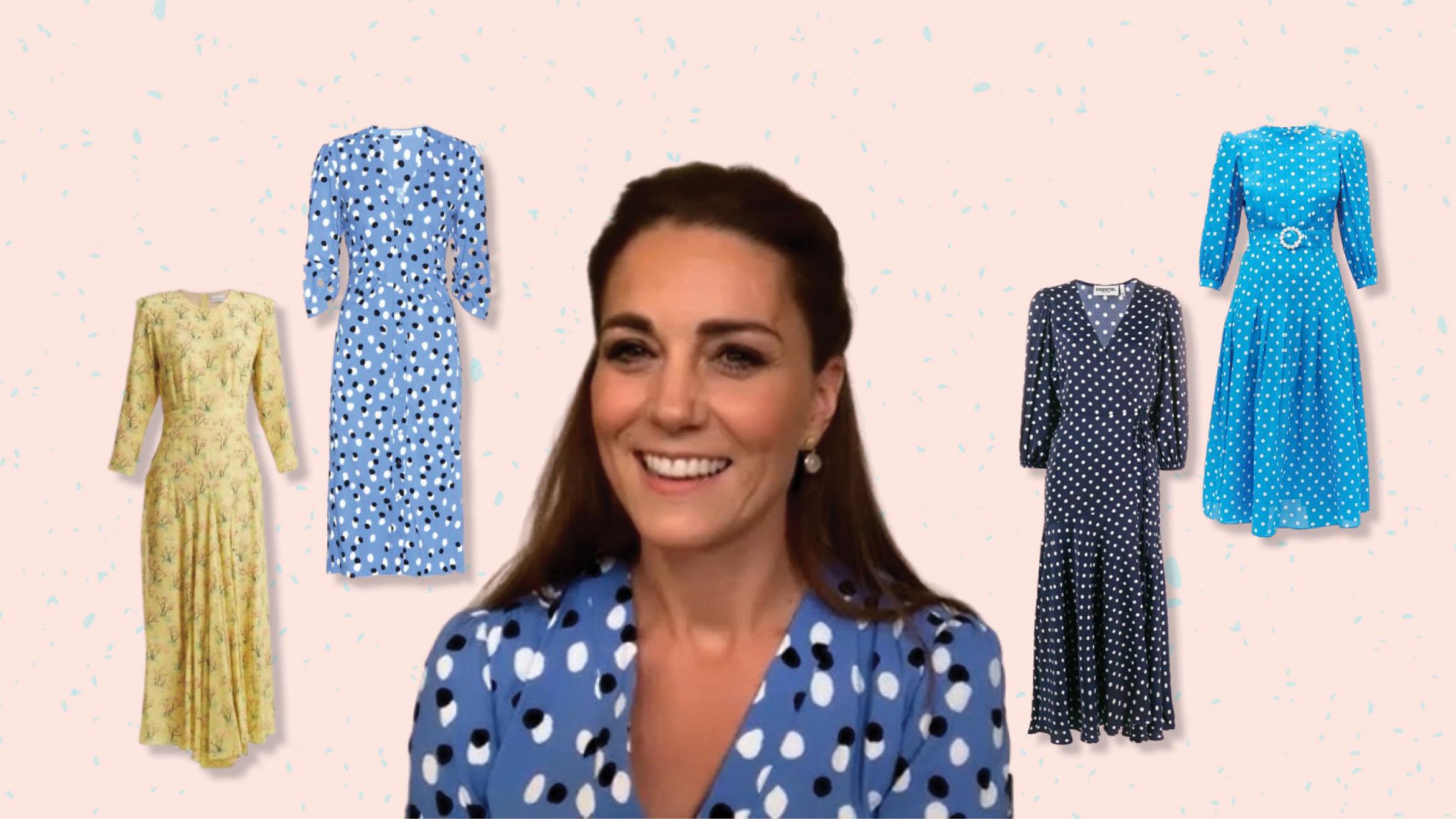 Kate Middleton zoom call fashion