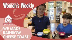 3-ingredient Hokkaido Cheese Toast