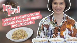 Which Canned Tuna Brand Makes Better Fried Rice? We Try It Out