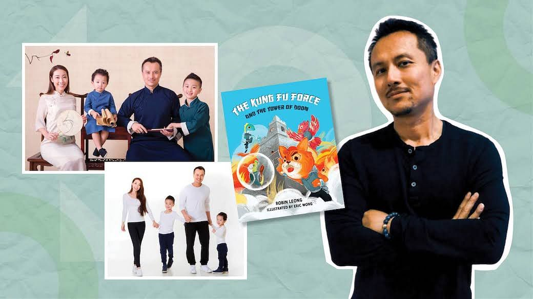 How Fatherhood Inspired Former TV Star Robin Leong To Write A Children's Book