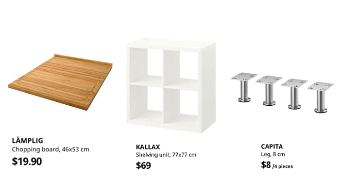 Diy A Kitchen Island For Only 100 With, Diy Kitchen Island Using Ikea Cabinets