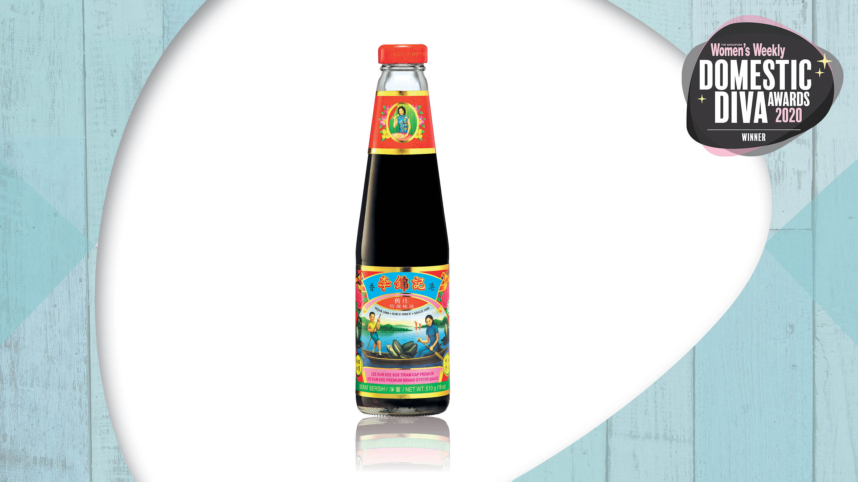 The Singapore Women's Weekly - domestic diva awards 2020 -Lee Kum Kee Premium Brand Oyster Sauce