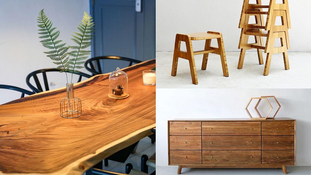 Timber furniture Singapore