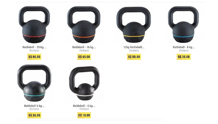 setting-up-home-gym-cost-singapore-kettlebell