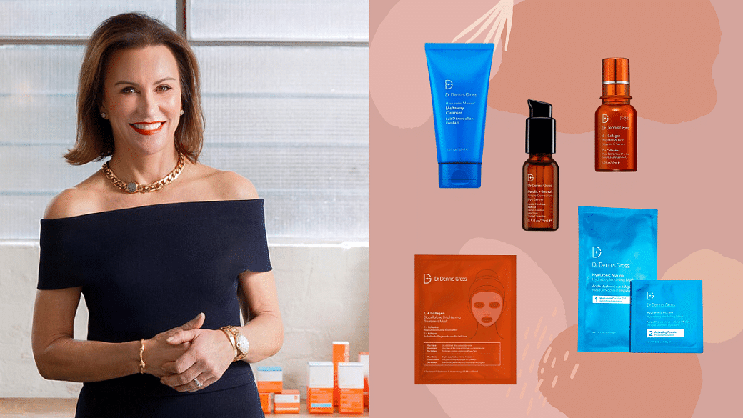 Carrie Gross of Dr Dennis Gross shares skincare tips skincare routine and how to fix pimples