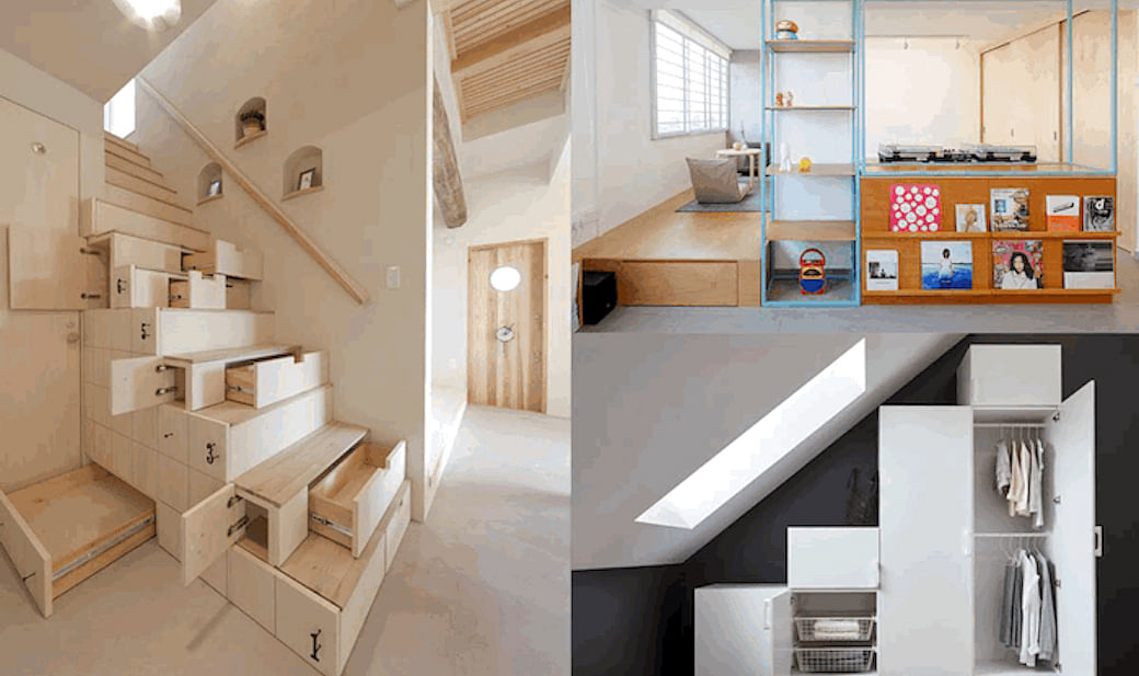 Extra storage space for small homes