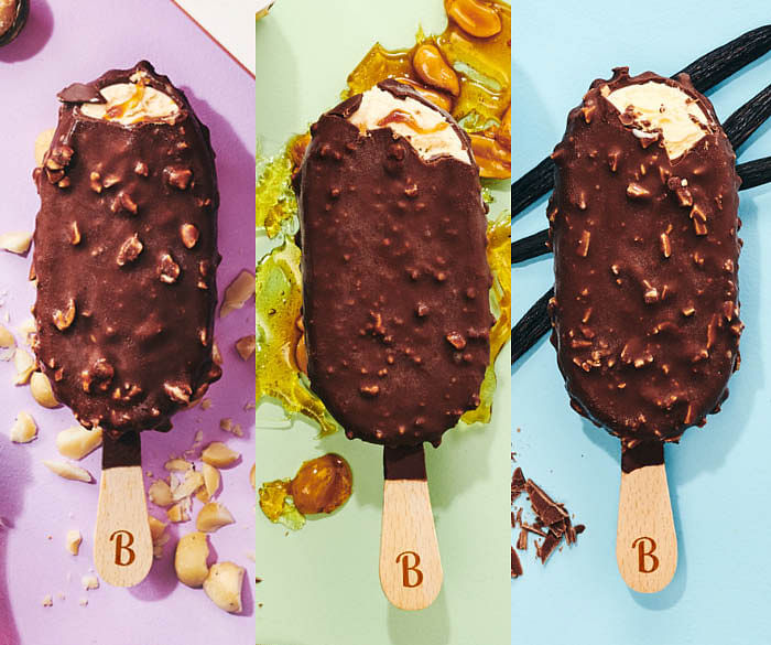 Bulla Murray St. Ice Creamery ice cream sticks