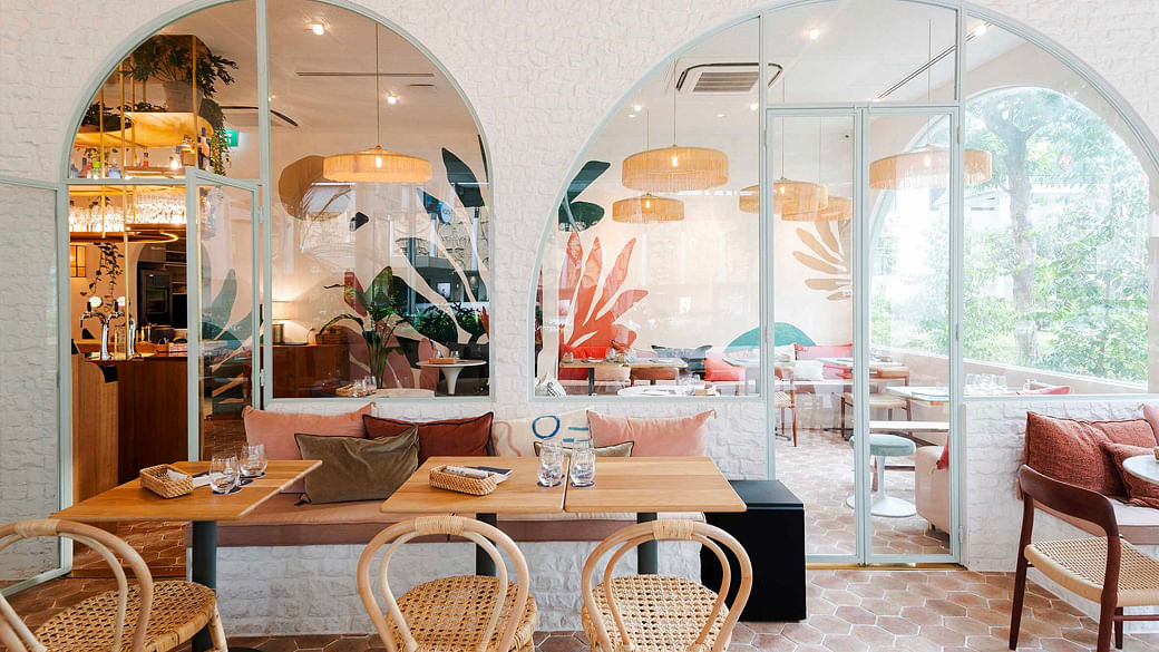 French cafes and french restaurants in Singapore that feel like Paris