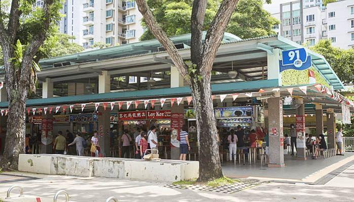 Hawker Stalls at Whampoa Drive Blk 91 Food Centre