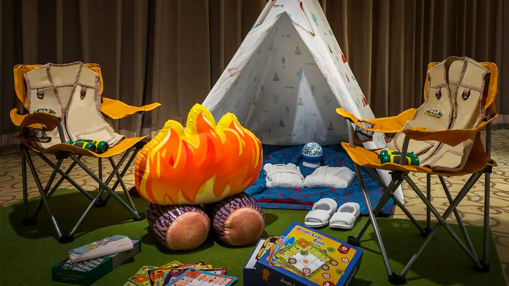 Family glamping staycation options in Singapore