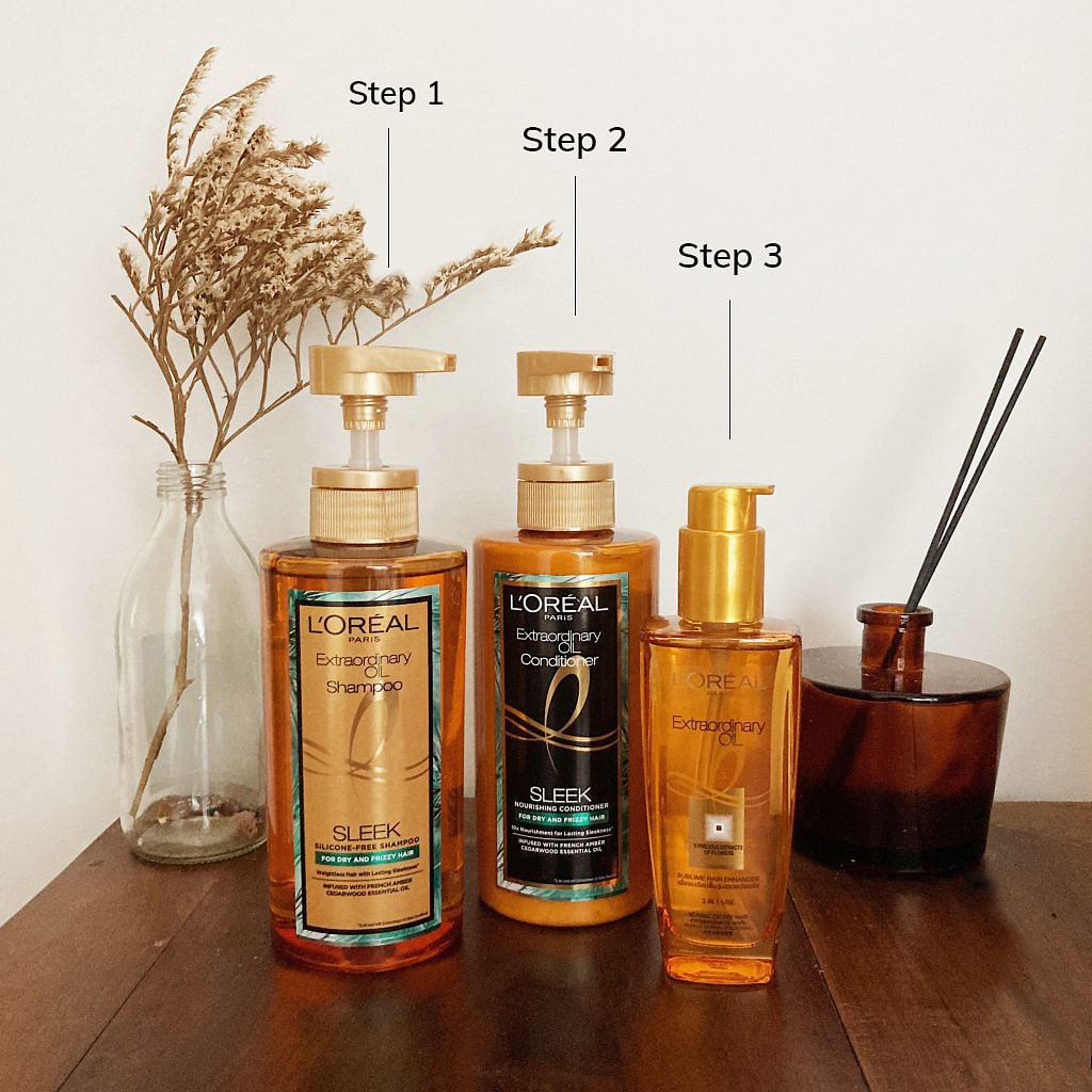 L'Oreal extraordinary oil range hair review