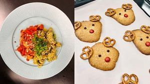 Style Bites: We Try Making Festive Pasta And Reindeer Cookies