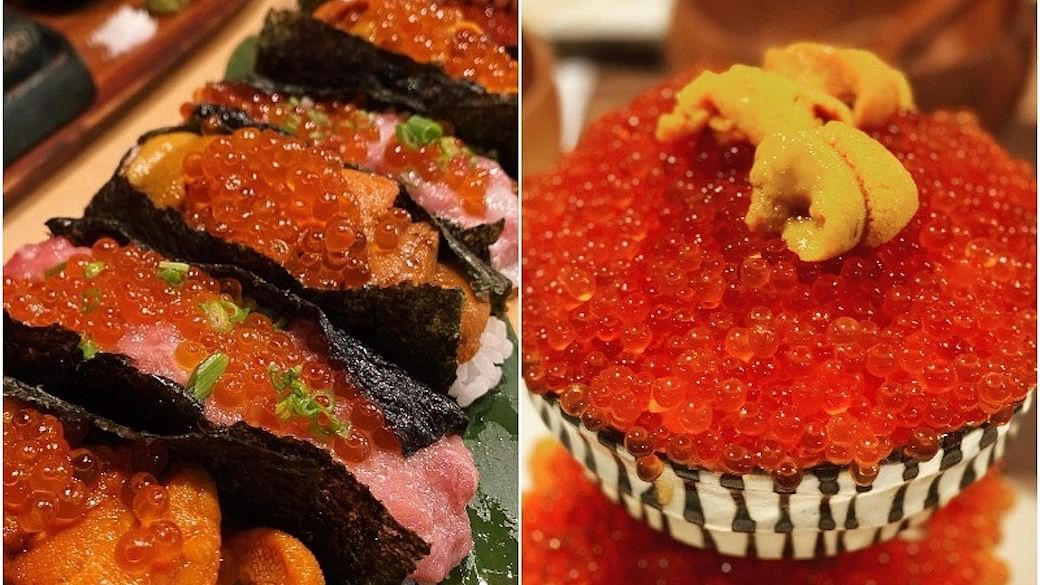 Amazing Hokkaido Sushi Dog