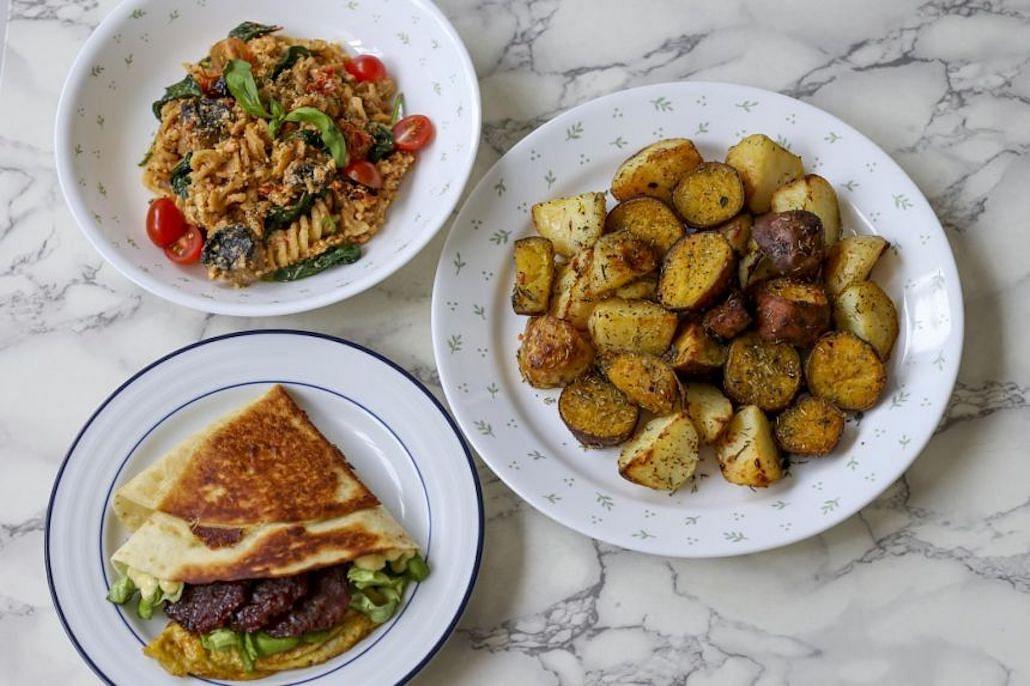 baked-feta-pasta-tortilla-wrap-roast-potatoes-viral-tiktok-recipes