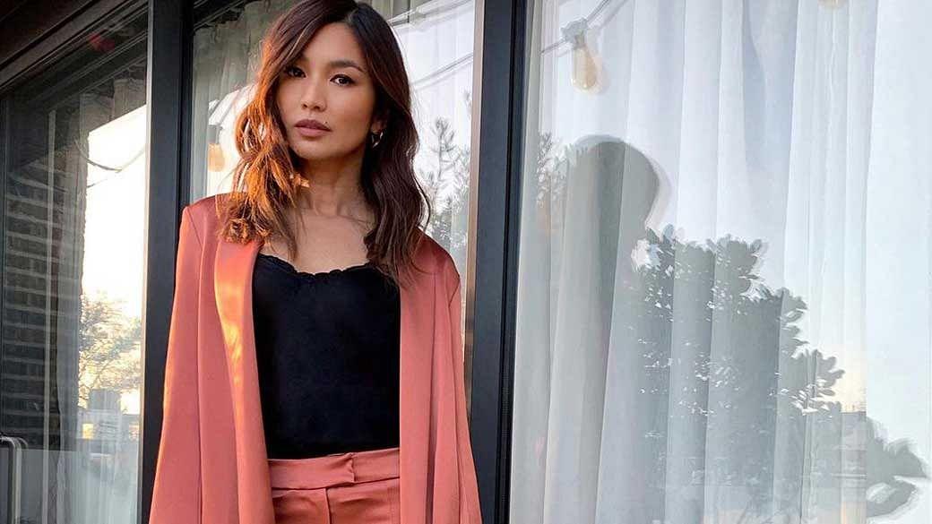 Crazy Rich Asian's Gemma Chan Puts On A Red Lipstick To Cheer Herself Up