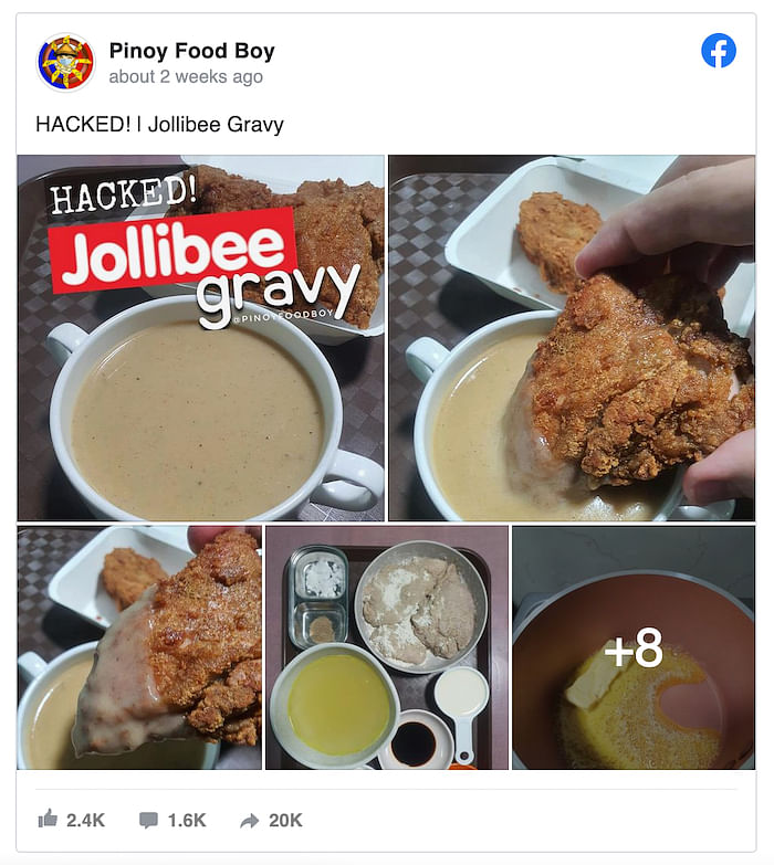 How To Make The Viral Jollibee Inspired Chicken Gravy At Home