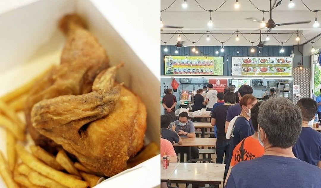 Winner's fried chicken