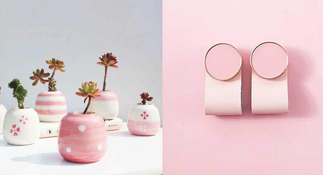 Sakura pink home items